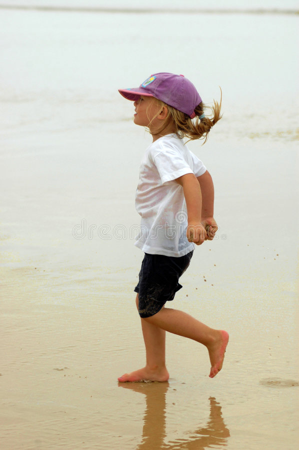 Happy summer child royalty free stock images