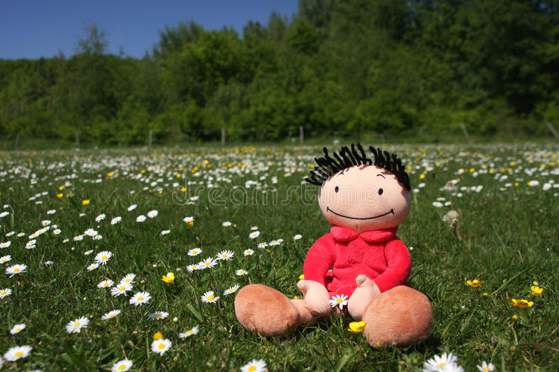 Download Happy summer doll stock image. Image of cheerful, feelings - 14469251