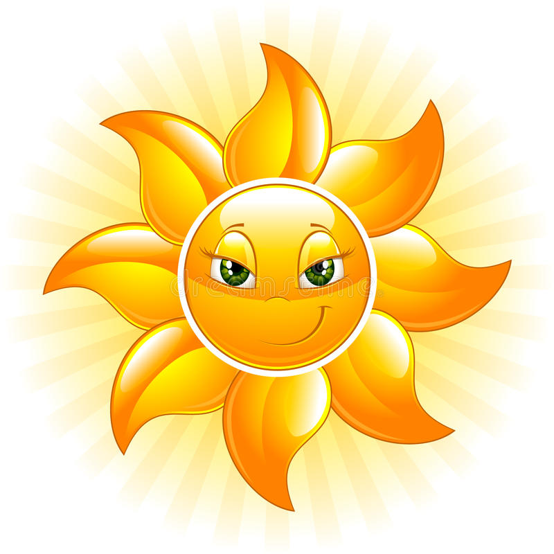 Download Happy Sun Royalty Free Stock Image - Image: 11201846