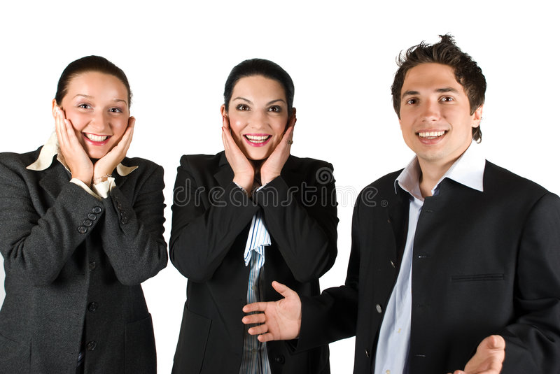 Download Happy Surprised People Team Stock Photography - Image: 9266812
