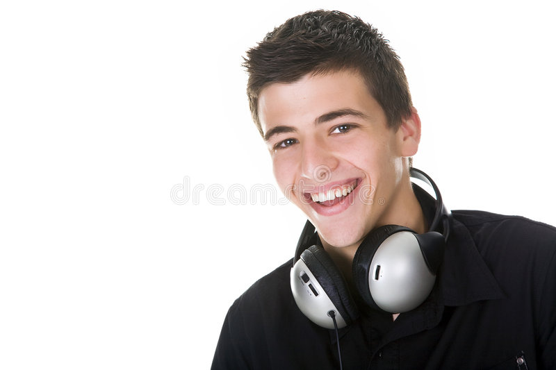 Happy Teen stock image
