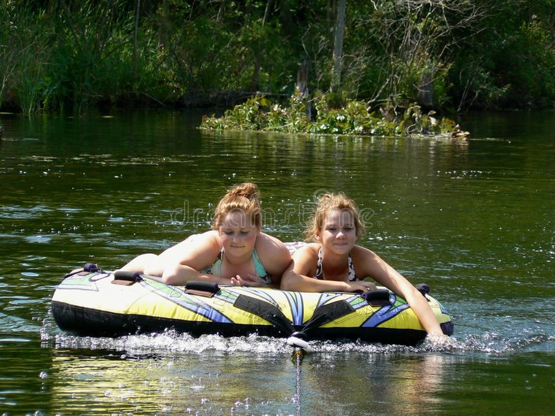 Happy Teen Best Friends River Tubing Stock Image - Image Of Boating, Swimming 1132881-4842
