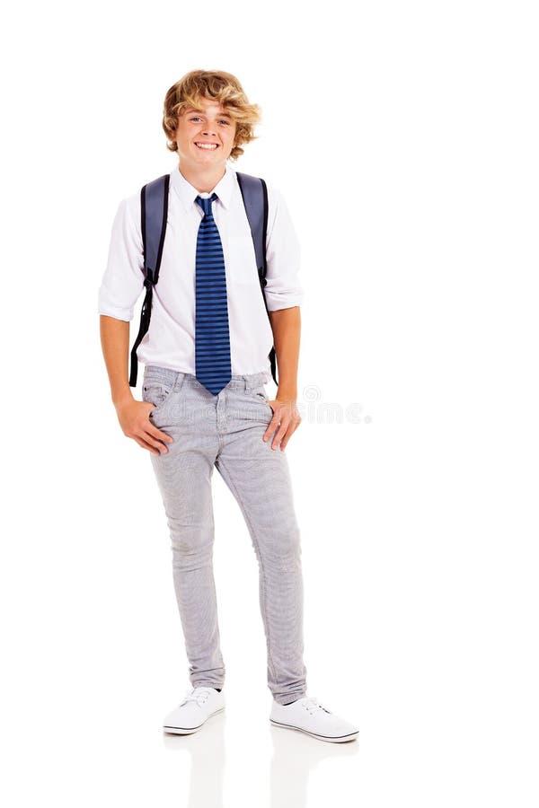 Download Happy teen boy stock photo. Image of length, handsome - 29698818