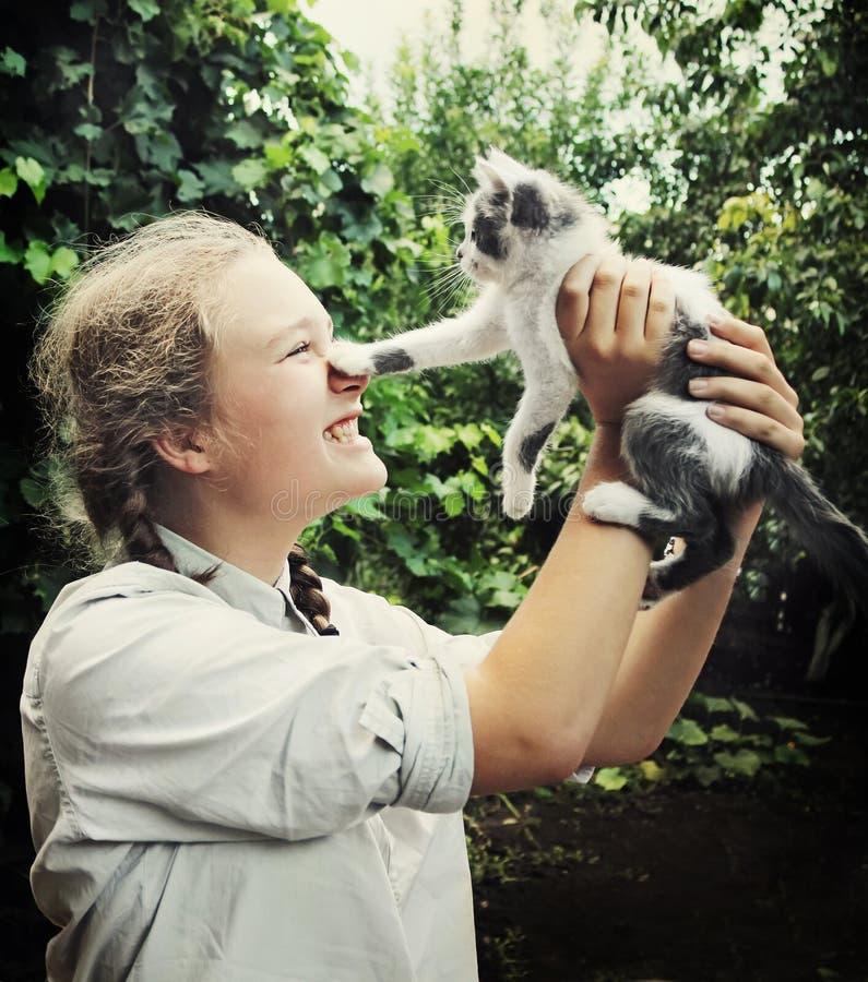 833 Kitten Teen Girl Photos - Free & Royalty-Free Stock