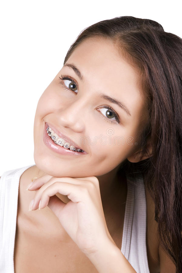 Free Happy Teen With Braces Royalty Free Stock Photography - 16572027