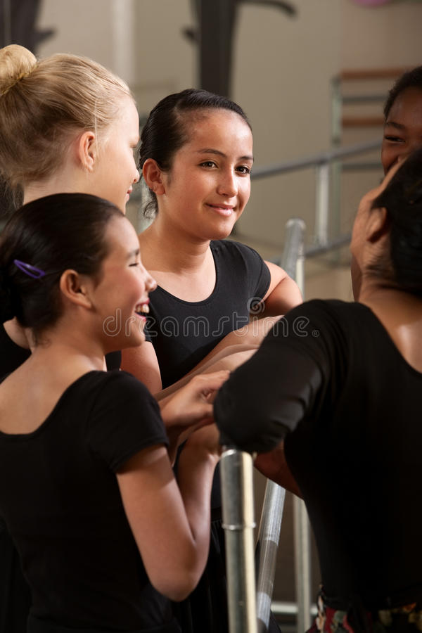 Happy Teenage Ballet Student Royalty Free Stock Images