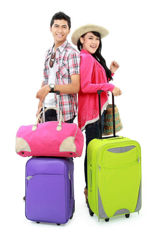 Download Happy Teenager Going On Vacation Stock Image - Image: 29363111