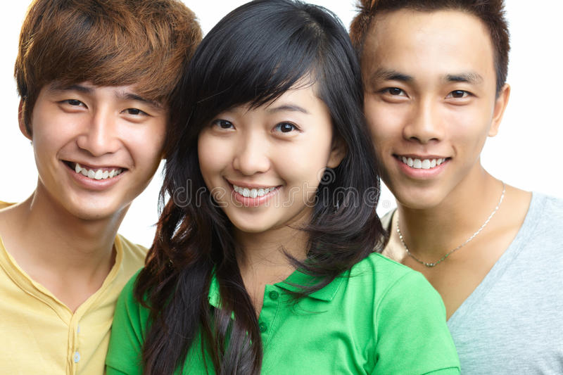 Download Happy teens stock image. Image of modern, cheerful, male - 26336485