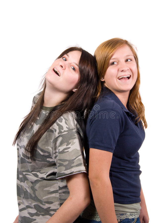 Happy Teens stock photos