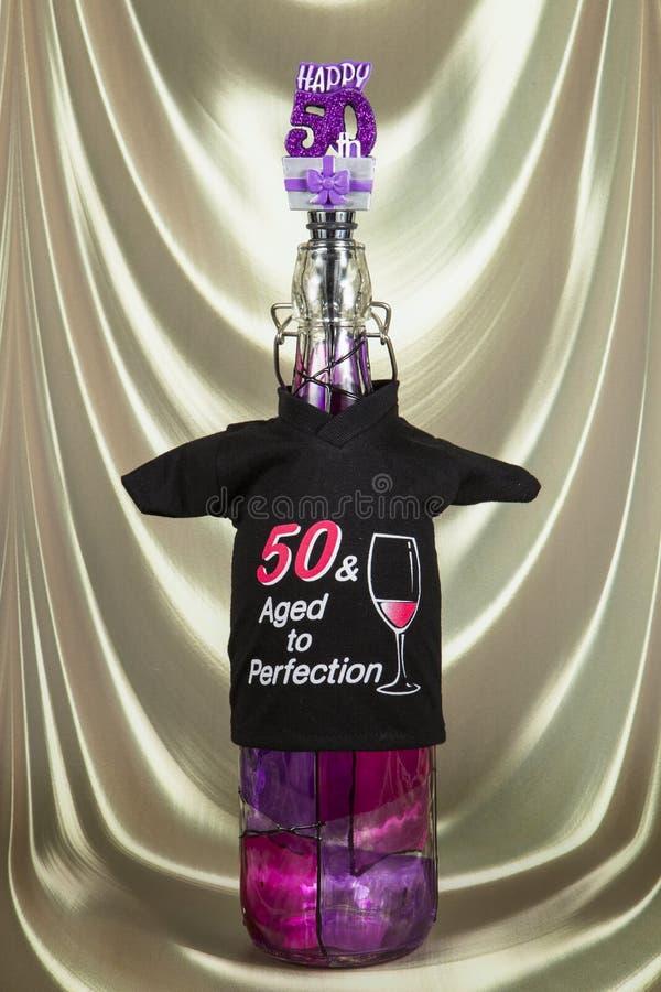 Happy 50th royalty free stock photos