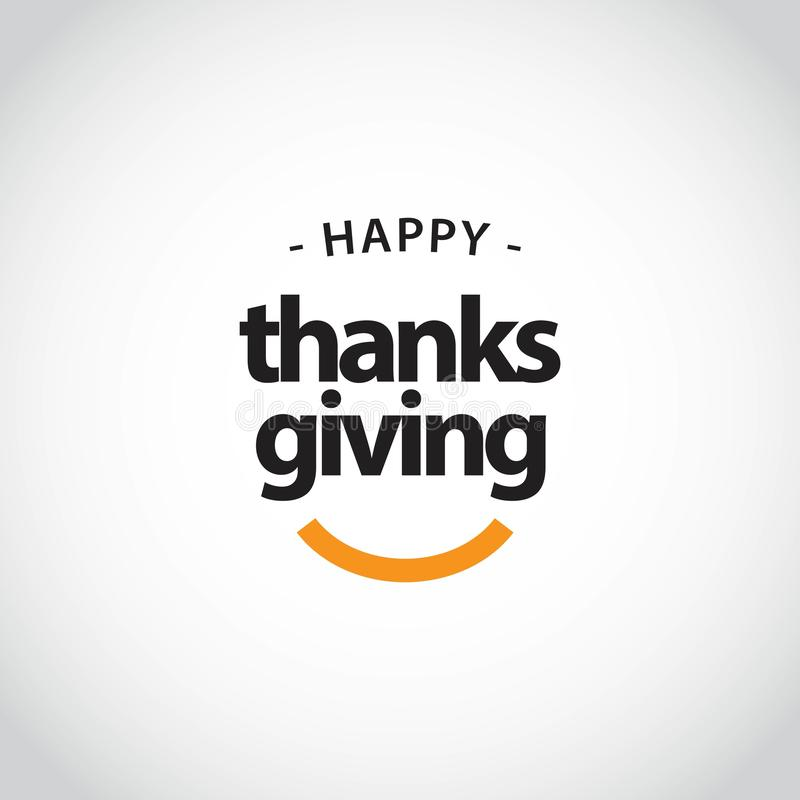 Happy Thanks Giving Vector Template Design Illustration vector illustration