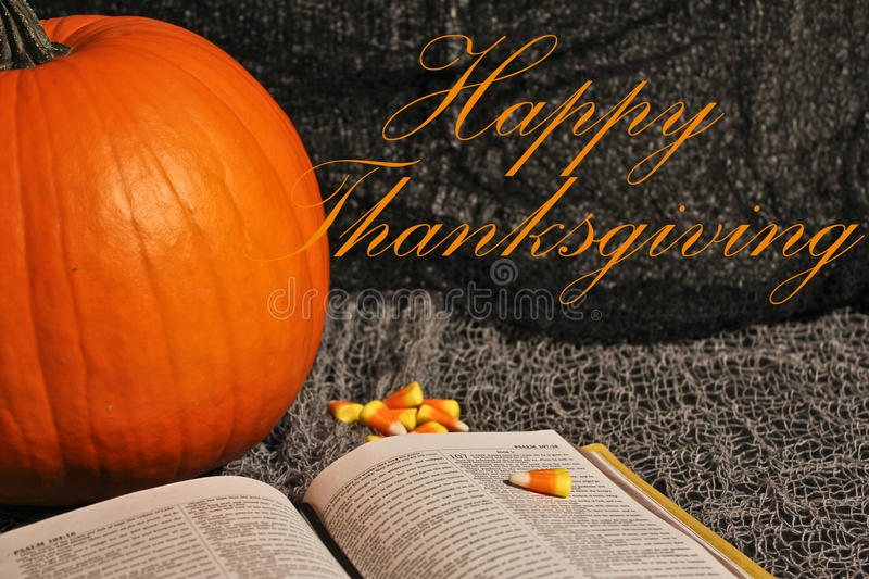 Happy Thanksgiving. stock images