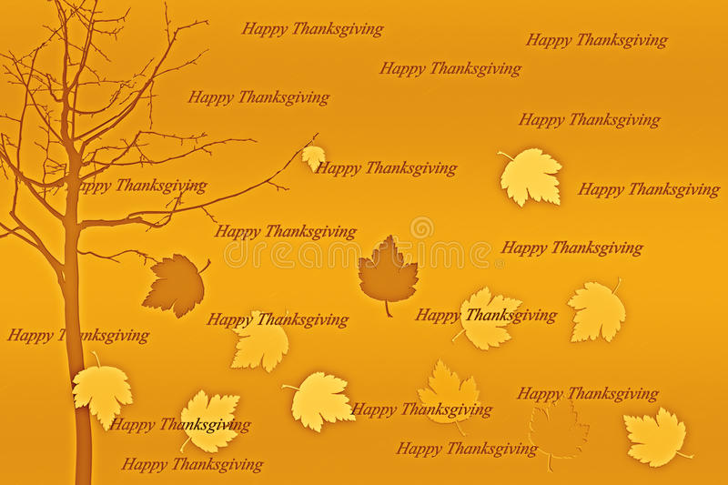 Download Happy Thanksgiving. stock illustration. Image of foliage - 26935591