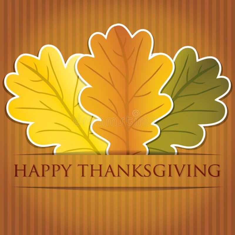 Happy Thanksgiving! stock illustration