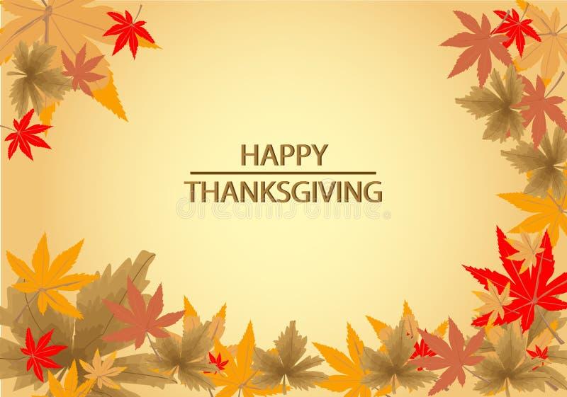 Happy Thanksgiving background vector illustration