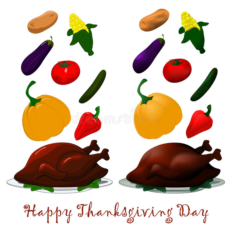 Happy Thanksgiving turkey royalty free stock image