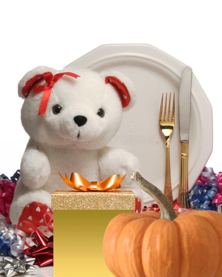 Happy thanksgiving. stock image