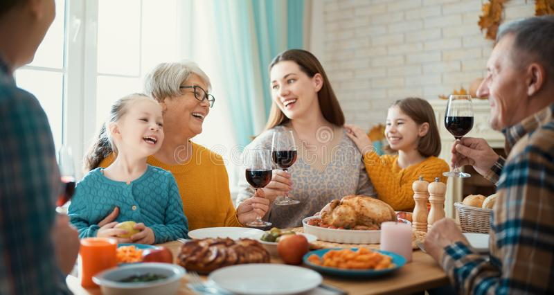 Happy Thanksgiving Day royalty free stock image