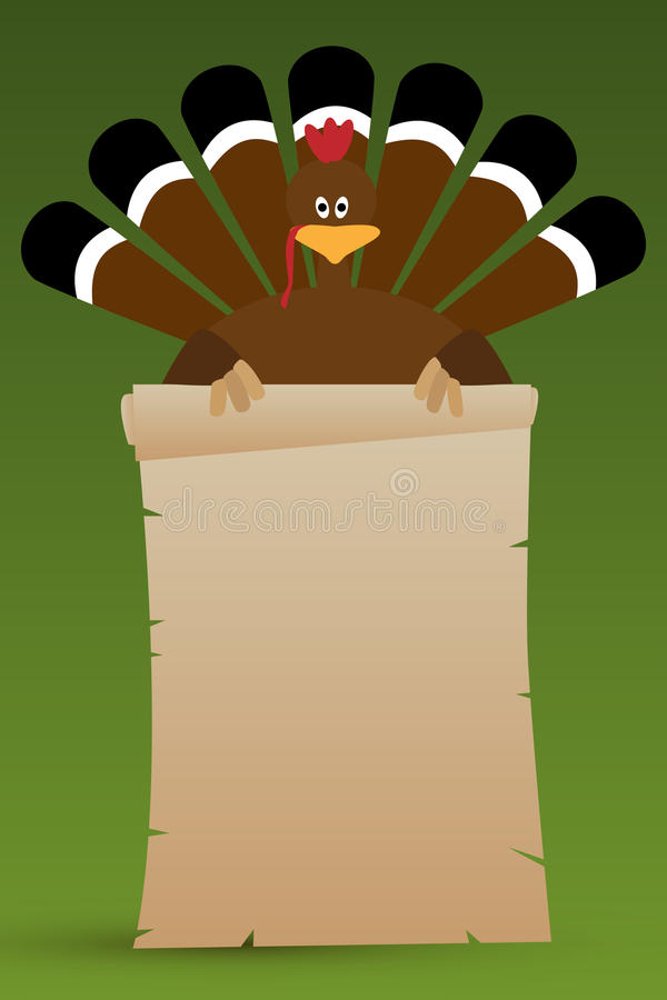 Thanksgiving Day card stock illustration