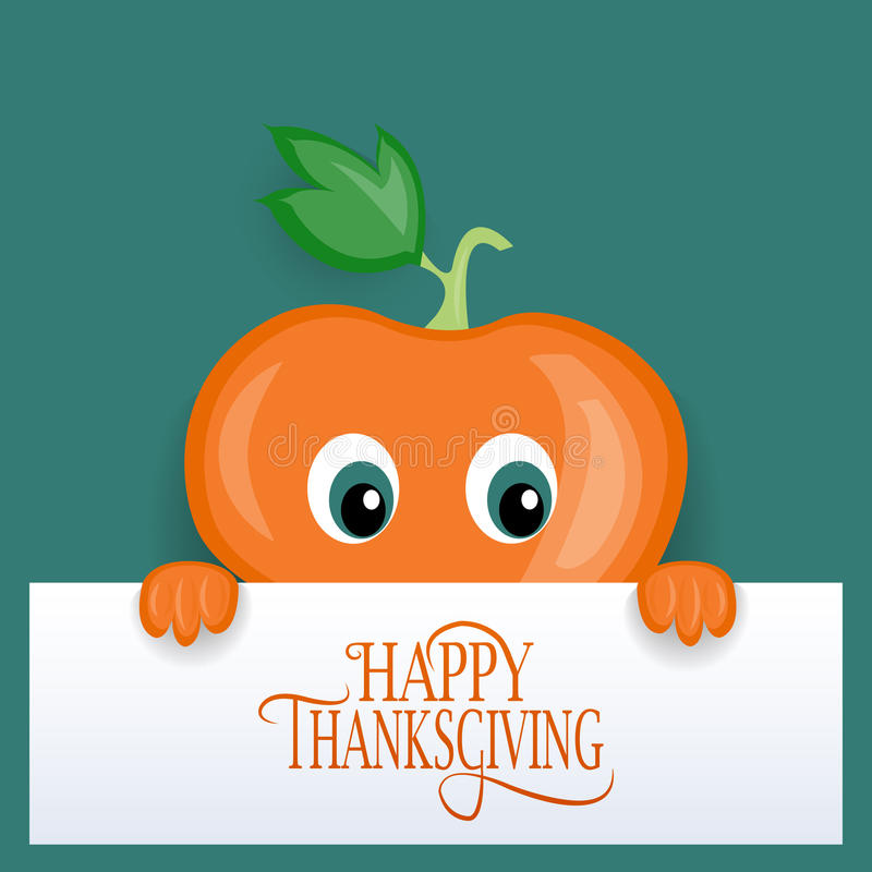 Happy Thanksgiving Day logotype, badge and icon royalty free illustration