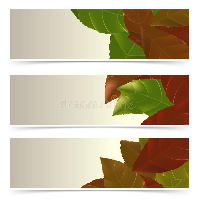 Happy Thanksgiving Day web banners shop discount cards vector illustration