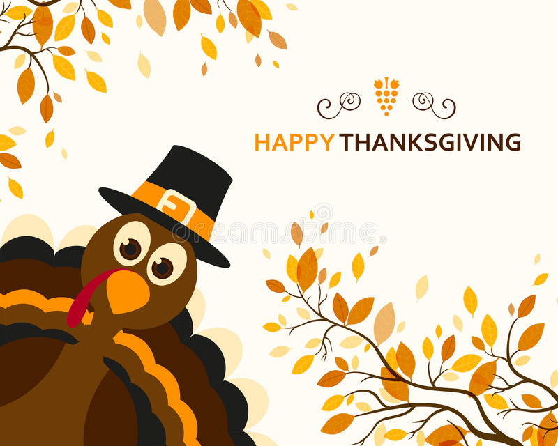 Happy Thanksgiving stock images