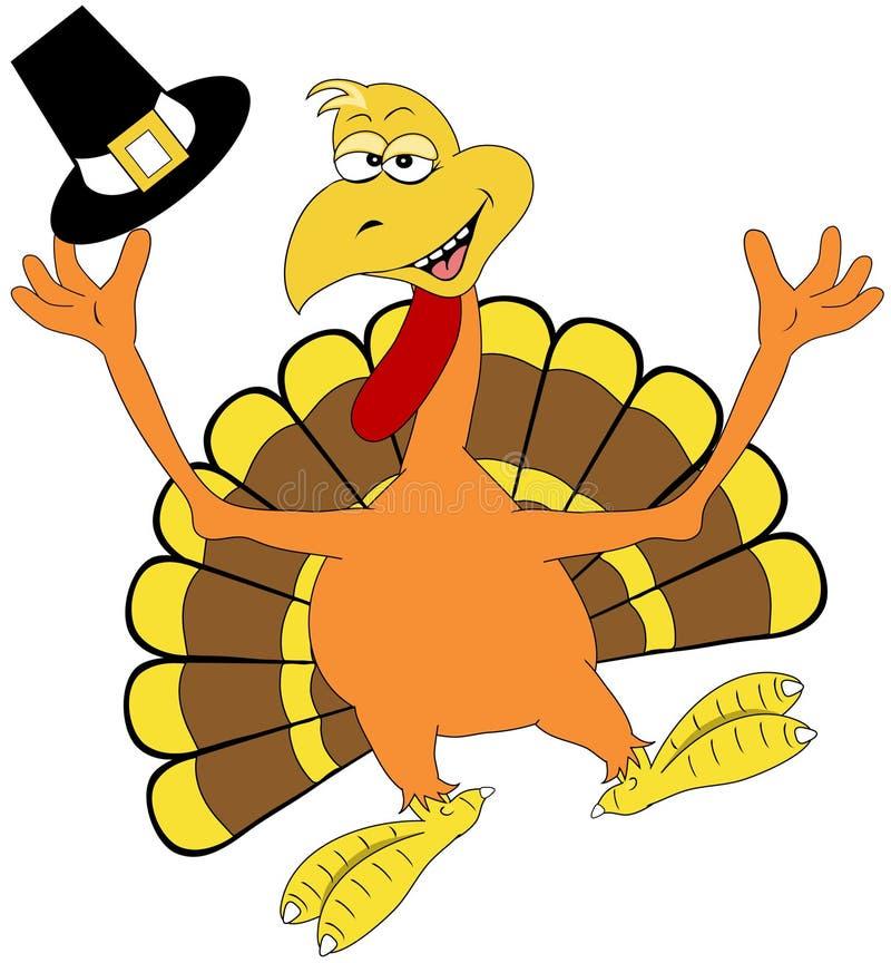 happy thanksgiving turkey stock illustration illustration of rh dreamstime com Funny Turkey Clip Art Funny Turkey Clip Art