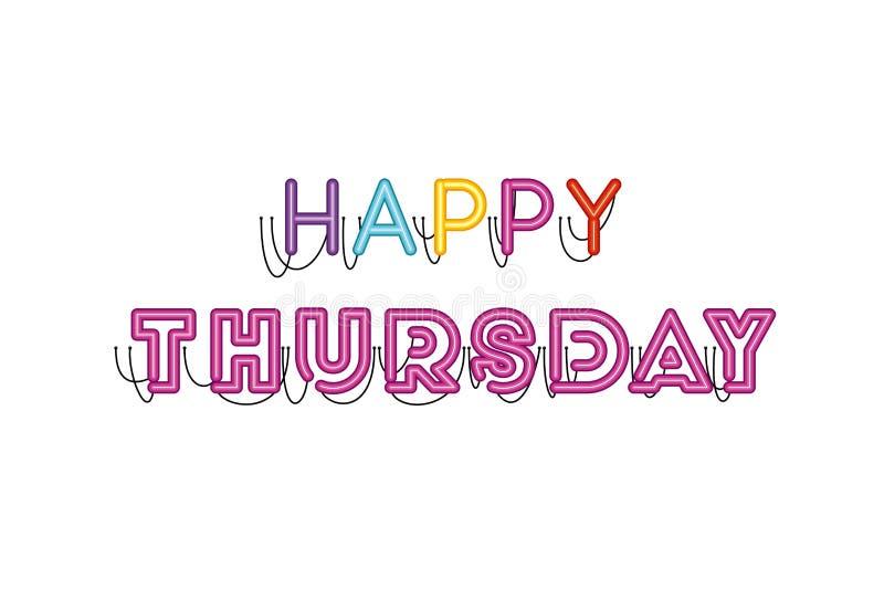 Happy Thursday Stock Illustrations – 1,314 Happy Thursday Stock ...