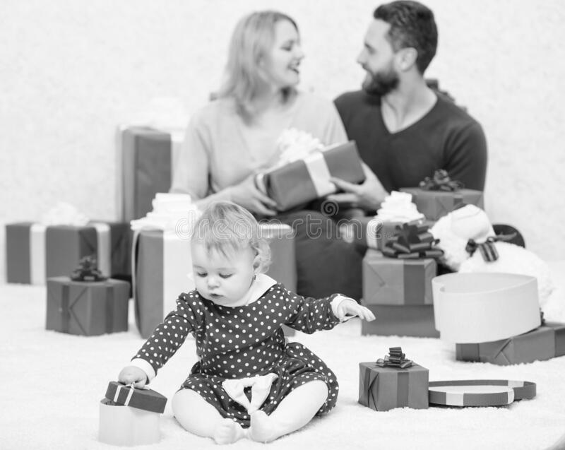 Happy to be together. Family values. Love joy and happiness. Parenthood awarded with love. Family love concept royalty free stock images