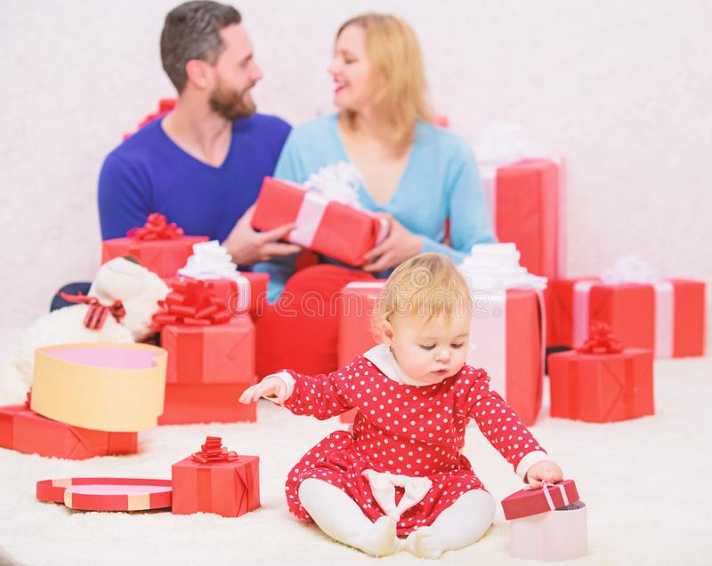 Happy to be together. Family values. Love joy and happiness. Parenthood awarded with love. Family love concept royalty free stock image