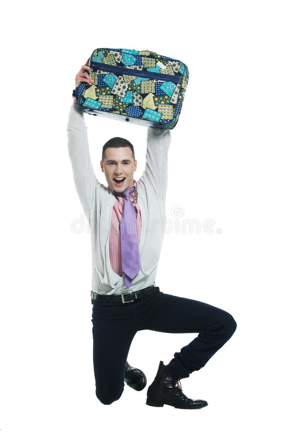 Download Happy to travel stock photo. Image of colorful, raised - 13038026