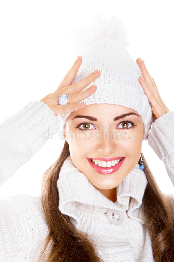 Download Happy Toothy Smile. Fresh Winter Face. Elation Stock Photo - Image: 27435696
