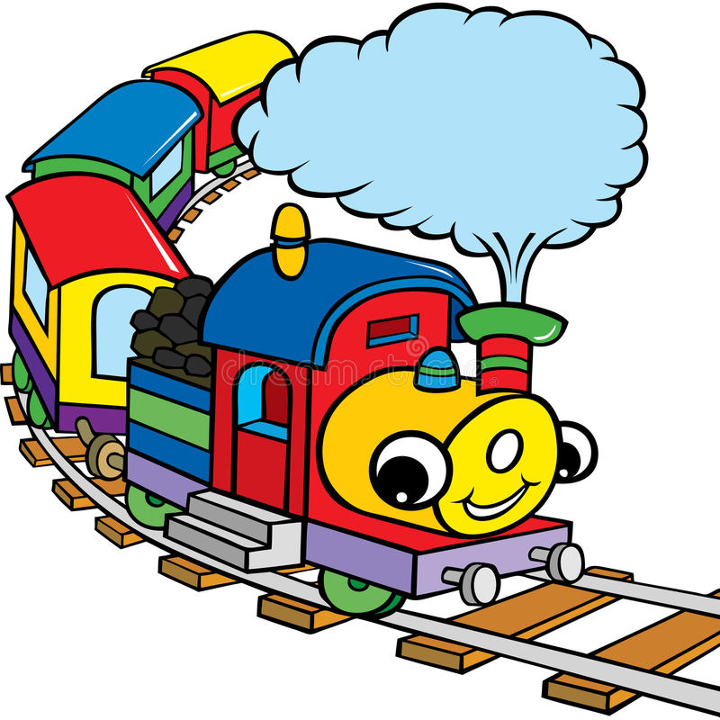 Download Happy train for kids stock vector. Image of computer - 23454844
