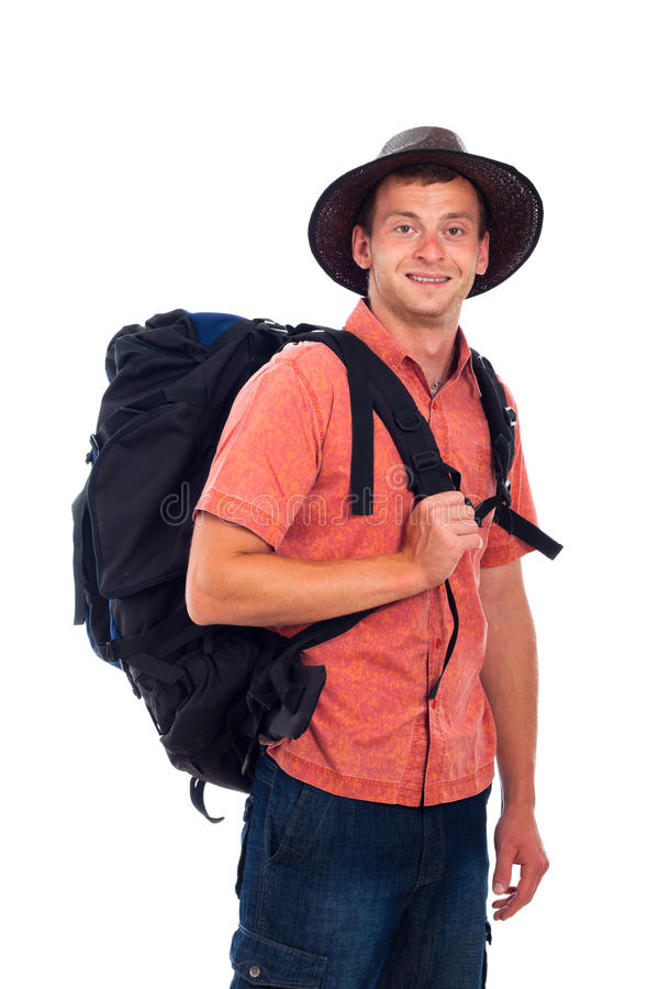 Download Happy traveler stock image. Image of person, backpack - 25979339