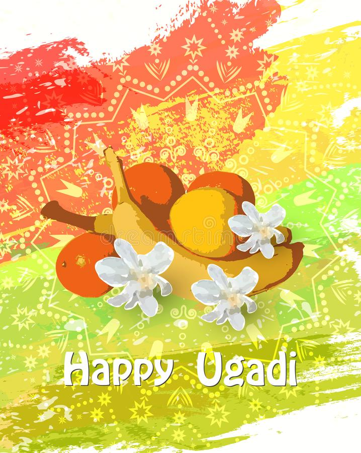 Happy ugadi card stock vector illustration of goddess 112042149 download happy ugadi card stock vector illustration of goddess 112042149 m4hsunfo