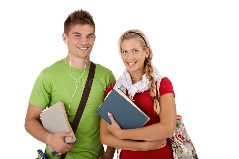 Download Happy university students stock photo. Image of blond - 33482052