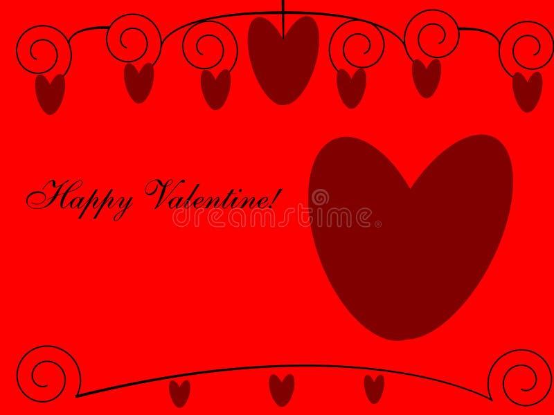 Download Happy Valentine! stock illustration. Illustration of letter - 12837926