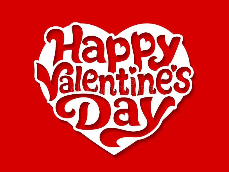 Happy Valentine Day stock illustration
