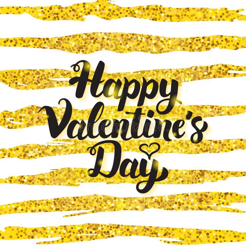 Happy Valentine Day Handwritten Card libre illustration