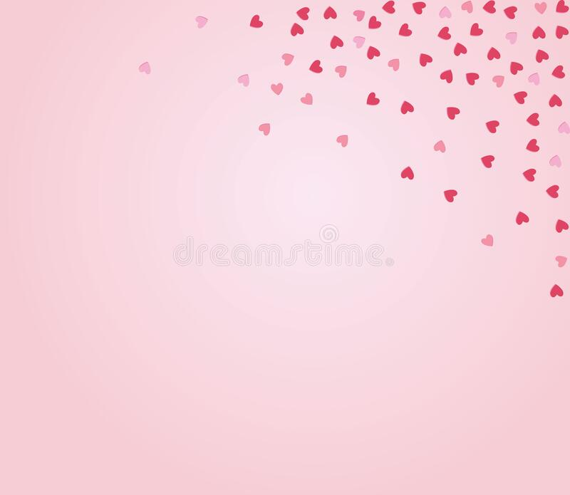 Happy Valentine Day lettering Greeting, vector royalty free stock images