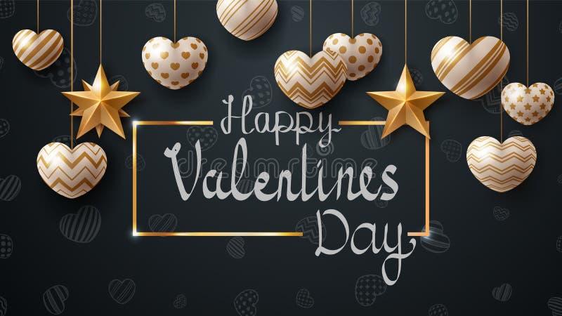 Happy Valentine day. Love template. Vectoe eps 10 stock illustration