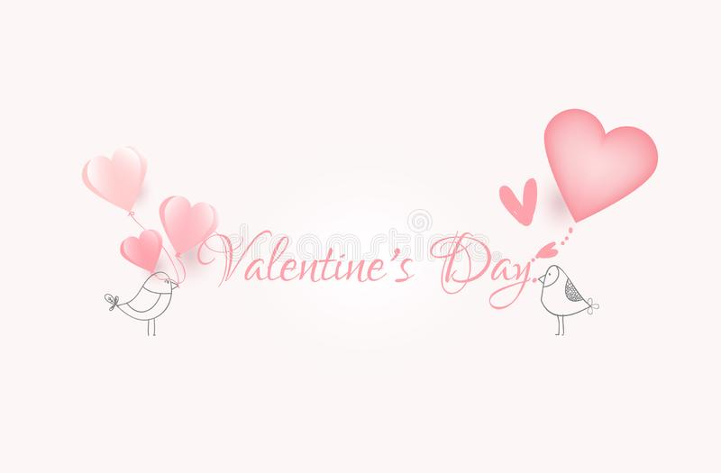 Happy valentine day,lovely cartoon with heart,creative drawn hands made card,elements,love,flyers, invitation,brochure,banners,. Posters vector illustration