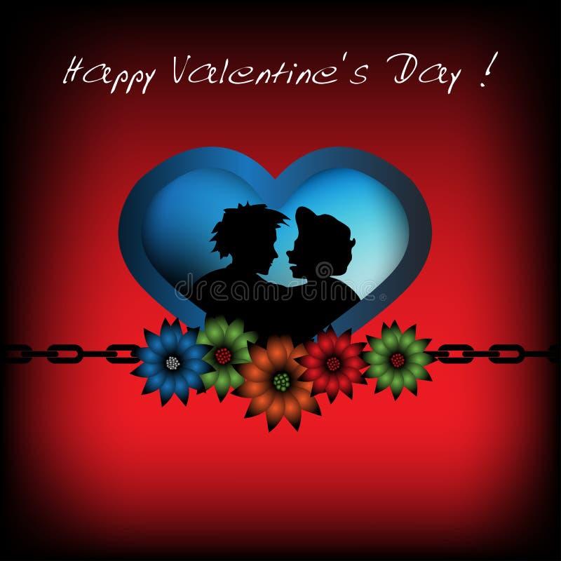 Happy Valentine's Day royalty free illustration