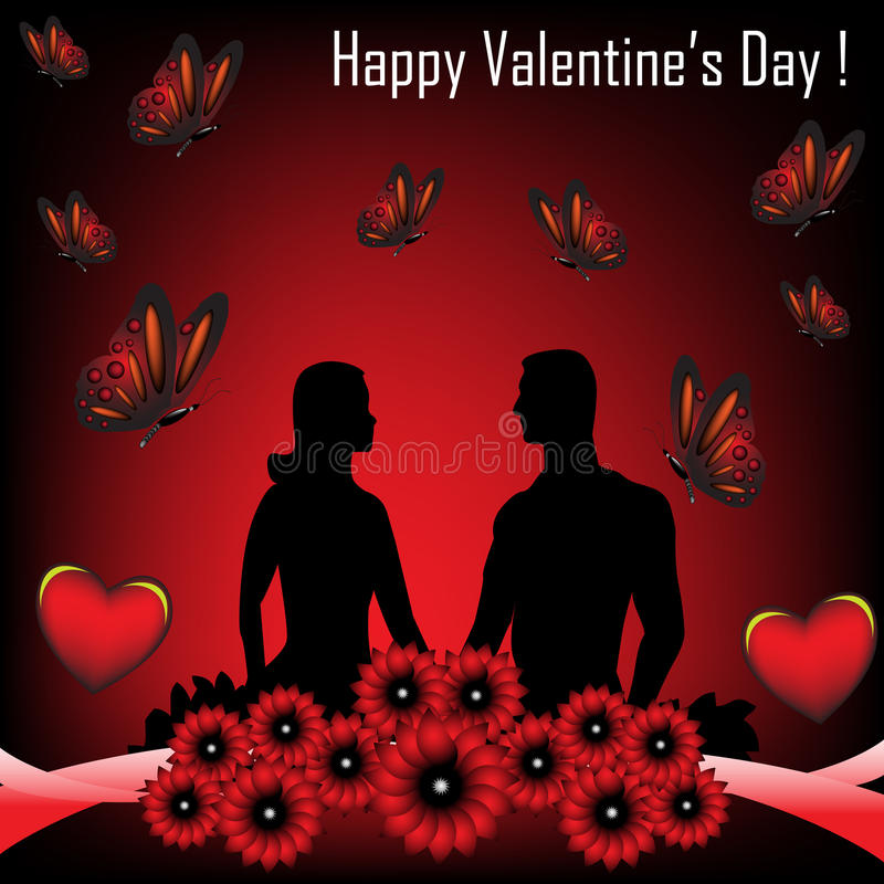 Happy Valentine's Day stock images