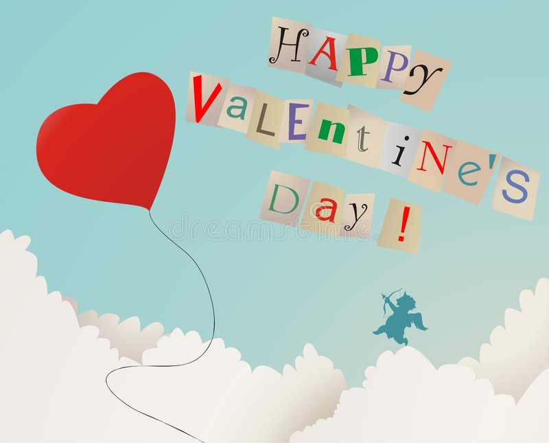 Happy Valentine's Day royalty free stock photo