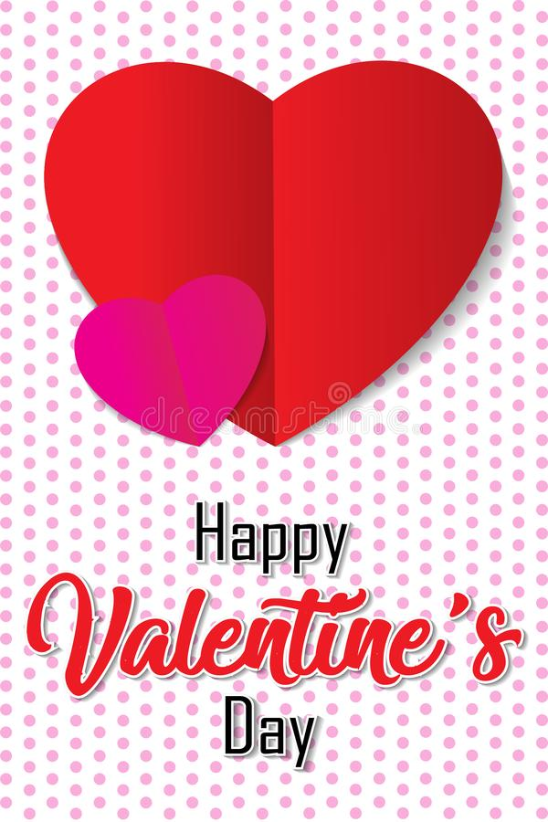 Happy Valentine`s Day. Backgrond vector illustration