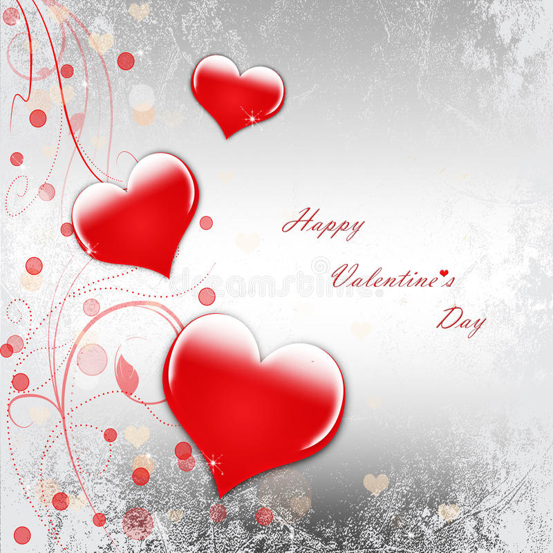 Happy Valentine`s Day celebration vector illustration