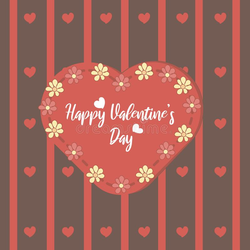 Happy Valentine s Day elements for your design. Vector.  stock illustration