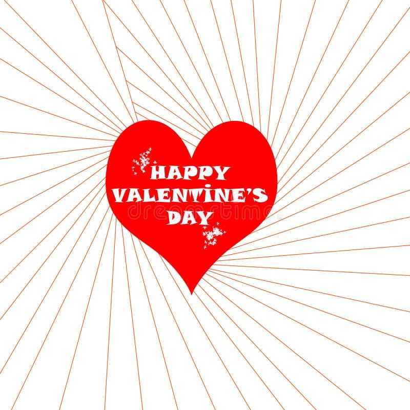 Happy Valentine`s Day. Illustrations, white stock illustration