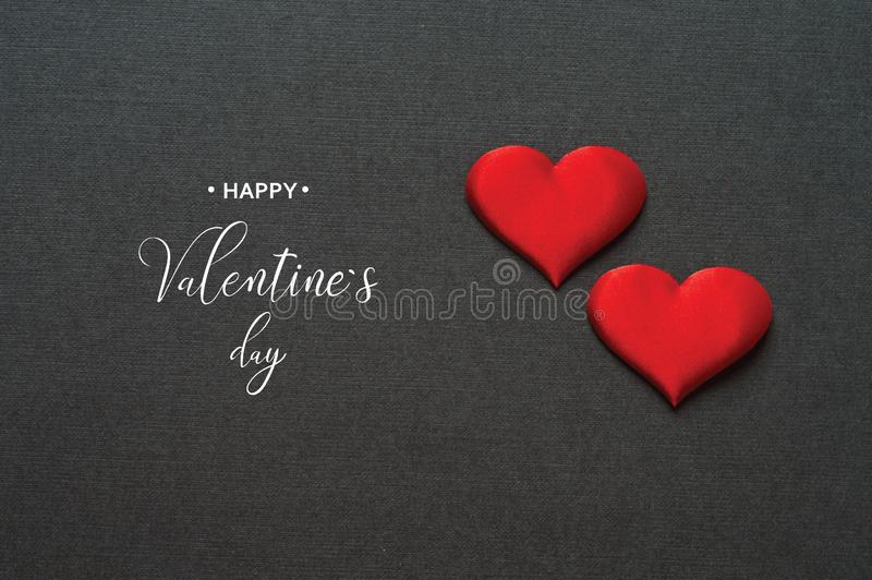 Happy Valentine`s day. Valentine. Love. Valentine`s Day postcard stock image